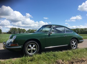 Porsche 912 Irisch green