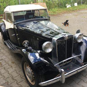 MG-TD  1953  Barnfind